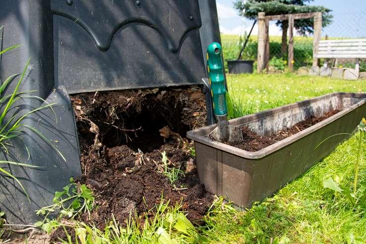 reifen Kompost verwenden